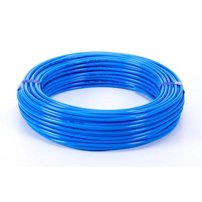 Poliuretán sűrítettlevegő cső DN6 -6x1 kék (TU1-E sorozat)