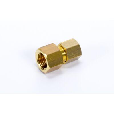 """Vágógyűrűs egyenes csatlakozó, belső menettel Ø22 - G3/4"""""""