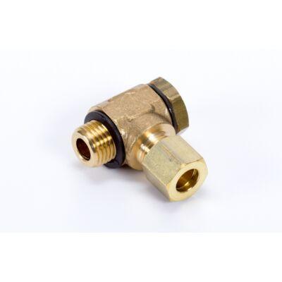 """Vágógyűrűs gyűrűs könyökcsatlakozó Ø22 - G3/4"""""""