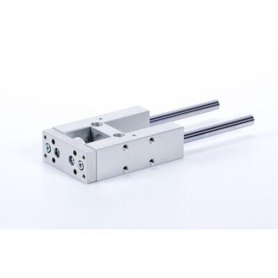 Lineáris H megvezető ISO 6432 hengerhez - siklócsapágyas