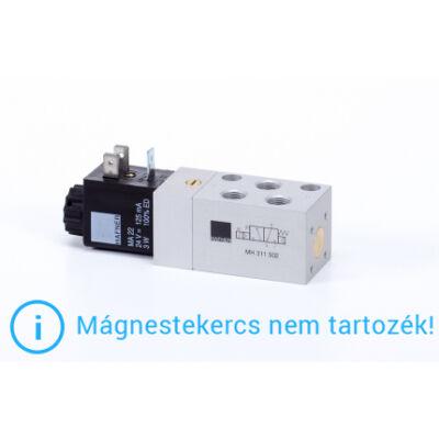 """3/2-es elektromos vezérlésű szelep, monostabil - alaph.zárt - G1/8"""""""