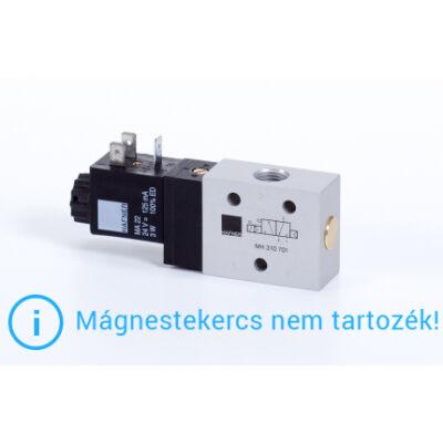 """3/2-es elektromos vezérlésű szelep, monostabil - alaph.zárt - G1/4"""""""