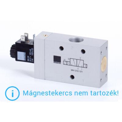 """3/2-es elektromos vezérlésű szelep, monostabil - alaph.zárt - G1/2"""""""