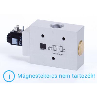 """3/2-es elektromos vezérlésű szelep, monostabil - alaph.zárt - G3/4"""""""