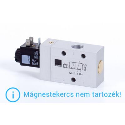 """3/2-es elektromos vezérlésű szelep, monostabil - alaph.zárt - G3/8"""""""