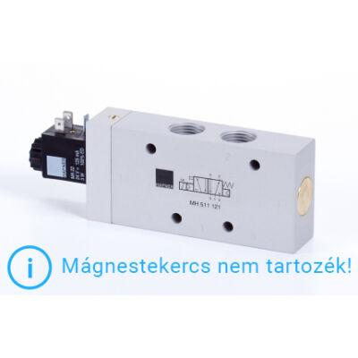 """5/2-es elektromos vezérlésű szelep, monostabil - G1/2"""""""