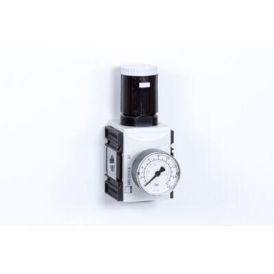 Nyomásszabályzó egység - 8 bar + Manométer (FS-2)